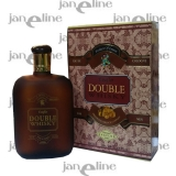 DOUBLE Whisky Eau de Cologne 200ml