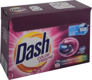 DASH tablety 12ks COLOR FRISCHE